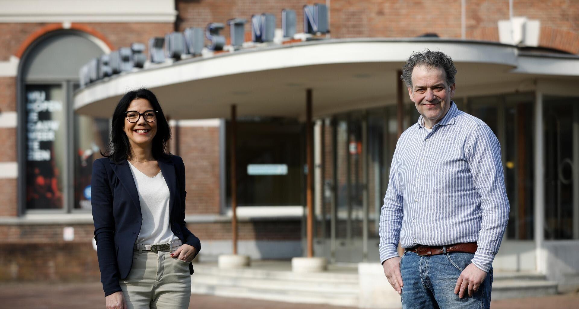 Bedrijfsvrienden Frank Kila en Esra Overduin: