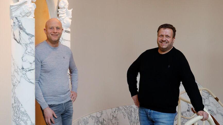 Eelco Wirds en Bob van der Hoeven van HSU.nl
