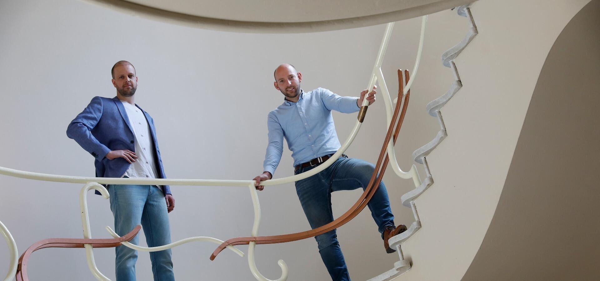 Menno Mientjes en Erik Pullen runnen samen Aannemersbedrijf Pullen